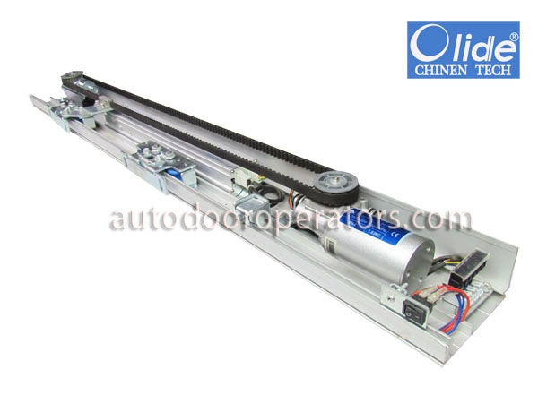 Automatic electric door opening system